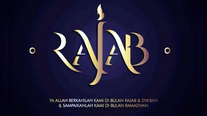 Ilustrasi Bulan Rajab 1442 H.
