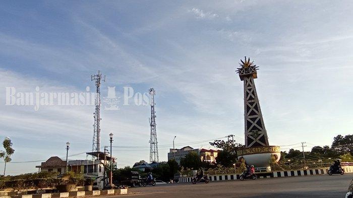 Dinas Perhubungan Kabupten Tabalong Pasang Area Traffic Control System di 8 Lokasi
