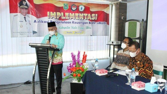 Kelola Keuangan BLUD Pambalah Batung Kabupaten HSU Melalui Aplikasi
