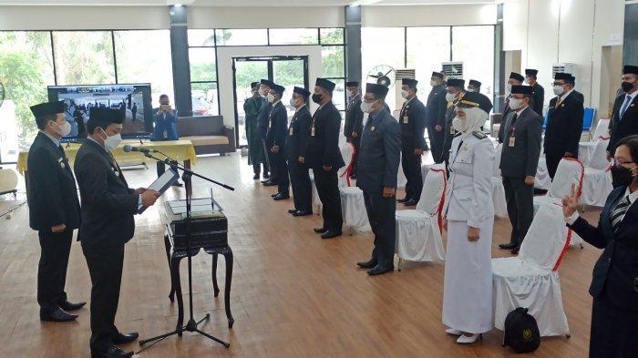 Susunan Kepala SKPD Baru di Balangan, Lima SKPD Dijabat Plt
