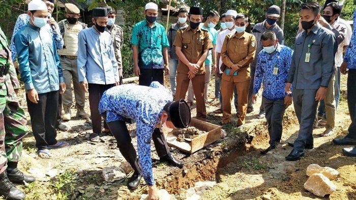 Warga Desa Maradap Kabupaten Balangan Mulai Bangun Tempat Ibadah