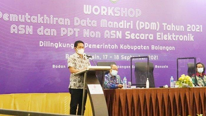 Aparatur Pemerintah Kabupaten Balangan Ikuti PDM, Wujudkan Data ASN yang Akurat