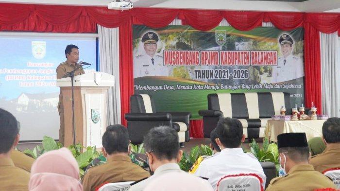 Musrenbang RPJMD 2021-2026 Pemkab Balangan Disesuaikan dengan Visi Misi Kepala Daerah