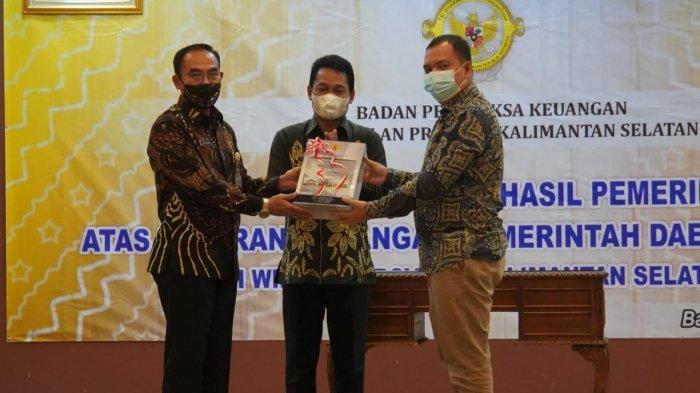 Pemkab Balangan Kembali Terima Penghargaan Opini WTP, Prestasi Kedelapan Sejak Tahun 2014