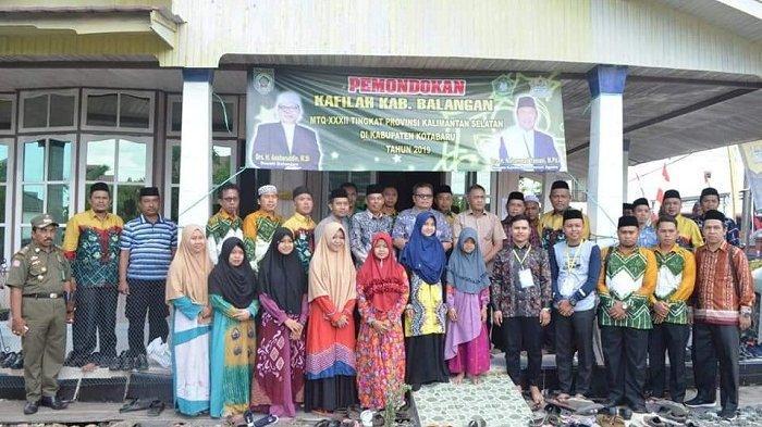 Hadiri Pembukaan MTQ Nasional di Kotabaru, Bupati Ansharuddin Gembira Lihat Kafilah Balangan