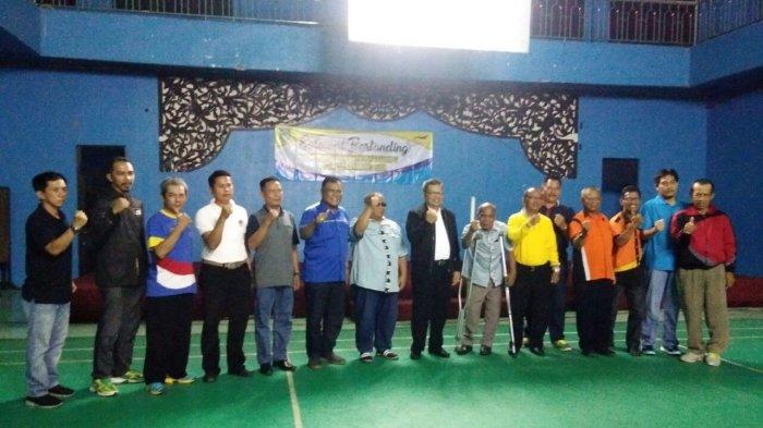 Balangan Tuan Rumah Kejurprov Bulutangkis NPC se-Kalimantan Selatan 2018