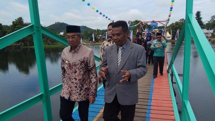 Ini Alasan Pambakal Mandikapau Barat Membuka Danau Tamiyang, Dulu Penuh Eceng Gondok Jadi Indah