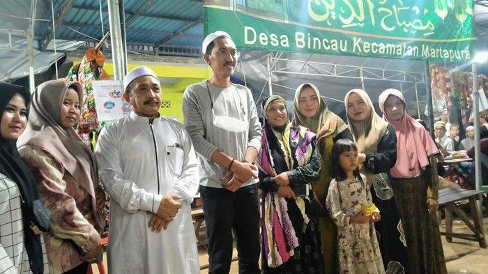 Bupati dan Wabup Hadiri Warung RamadanWarga Desa Bincau Kabupaten Banjar