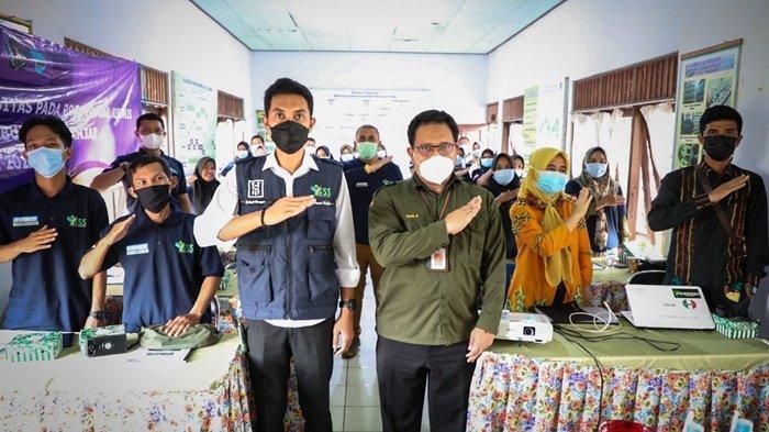 Bupati Banjar Saidi Mansyur Beri Motivasi kepada Petani Milenial Peserta Program YESS