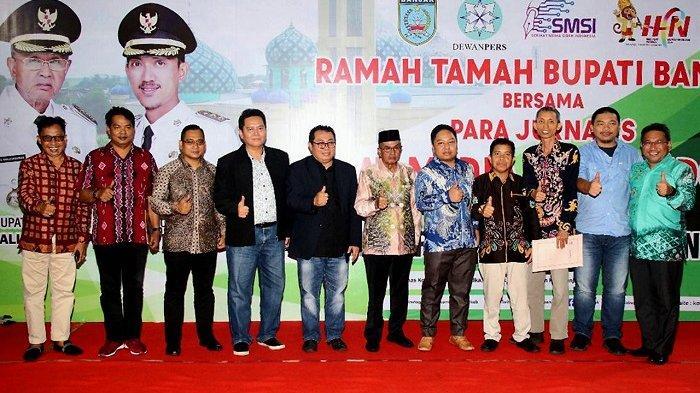 Peringatan HPN 2020, Bupati Banjar Gelar Ramah Tamah Bersama Serikat Media Siber Indonesia