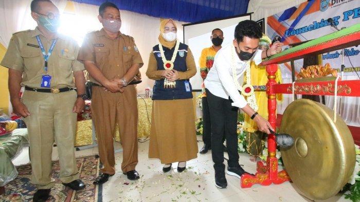 Bupati Banjar Saidi Mansyur Launching Pelajar Manis di SMPN 2 Kertak Hanyar