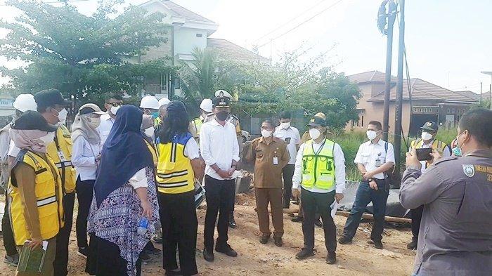 Dirjen Cipta Karya Kementerian PUPR Berharap Penataan Kawasan Wisata Sekumpul Martapura Dipercepat