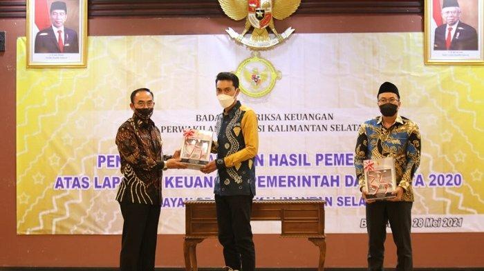 Pemkab Banjar Raih8 Kali WTP, Bupati : Itu Artinya Pengelolaan Keuangan Transparan dan Akuntabel