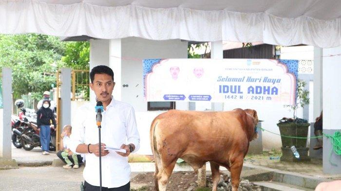 Pemerintah Kabupaten Banjar Potong 8 Ekor Sapi Kurban Idul Adha 1442 H
