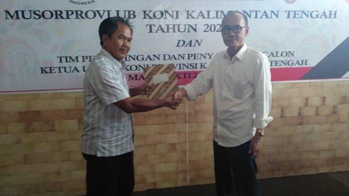 Bupati Barito Selatan Turut Mendaftar Jadi Bakal Calon Ketua KONI Kalimantan Tengah