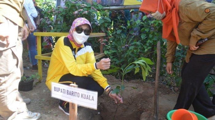 Hari Lingkungan Hidup Sedunia 2021, Bupati Gelar Peringatan di Desa Wisata  Muara Kanoko