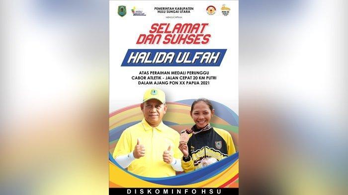 Tiga Atlet HSU Berprestasi Raih Medali di PON XX Papua 2021, Bupati Abdul Wahid Sampaikan Apresiasi