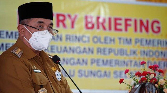 BPK Perwakilan Kalsel Lakukan Pemeriksaan LKPD Pemkab HSS