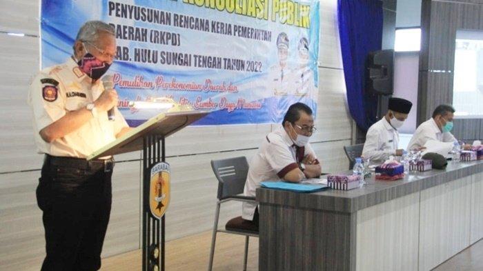 Bupati dan Wakil Bupati HST Buka Forum Konsultasi Publik, Ini Tujuannya