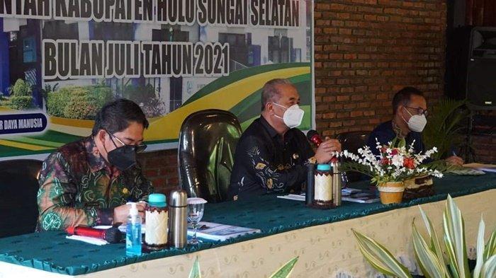 Rakor Bulanan, Bahas Isu Strategis di HSS