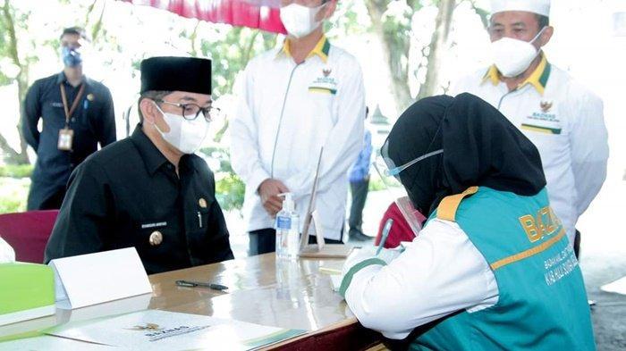 Bupati Achmad Fikry Ajak Masyarakat Salurkan Zakat, Infak dan Sedekah Melalui Baznas HSS