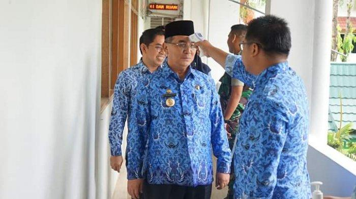 Bupati HSS Tetapkan Status Siaga Darurat Hadapi Covid-19, Bentuk Tim Gugus Tugas