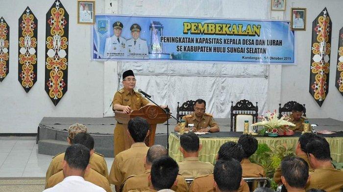 Bupati H Achmad Fikry Minta Desa dan Kelurahan di HSS Berkontribusi dalam Inovasi Pelayanan Publik