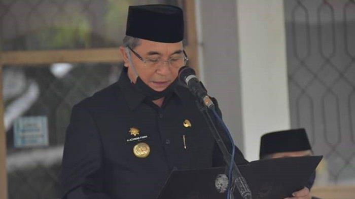 Peringati HUT ke-71 Gubernur Tentara ALRI, Pemkab HSS Ikuti Protokol Pencegahan Covid-19
