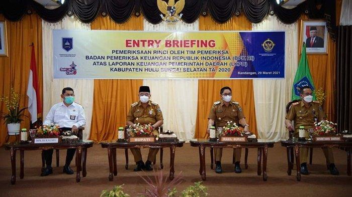 BPK Perwakilan Kalsel Lakukan Pemeriksaan LKPD Pemkab HSS ...