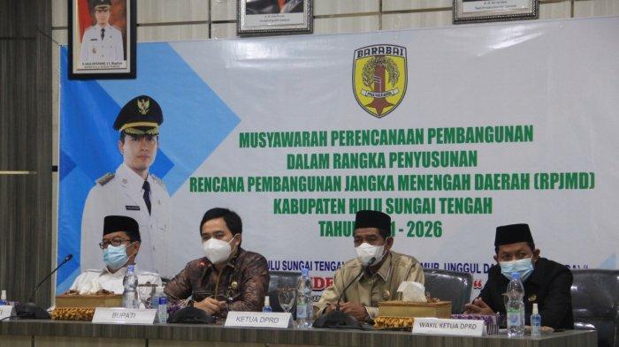 Musrenbang RPJMD 2021-2026, Bupati HST Sebut Program Pembangunan Harus Terintegrasi