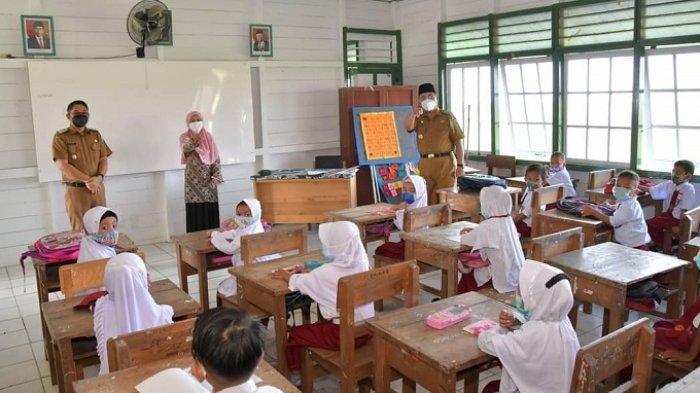 Pembelajaran Tatap Muka Digelar, Dinas Kesehatan Pastikan Belum Ada Klaster PTM di HSS