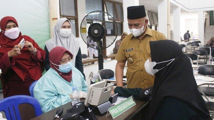 Percepat Vaksinasi Covid-19 di Kabupaten HSU, 5.000 Dosis Kembali Disiapkan