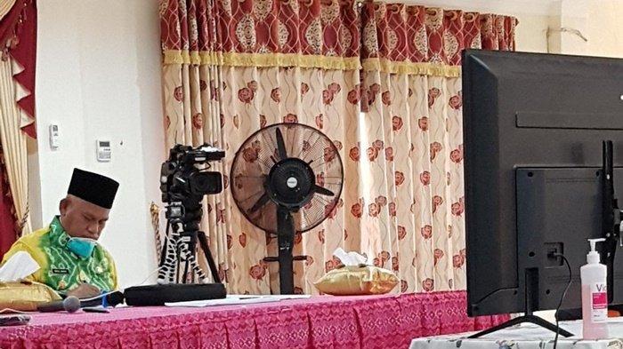 Bupati Wahid Ikuti Arahan Gubernur Terkait Penanganan Corona