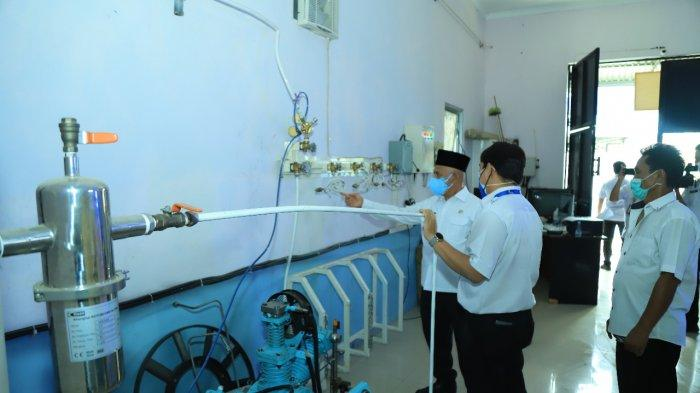 Stok Oksigen di RSUD Pambalah Batung HSU Kalsel Aman