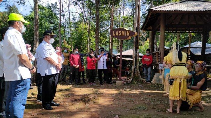 Bupati Minta Pengunjung Wisata Patuhi Prokes, Si Dewi Kembang dari Desa Diluncurkan