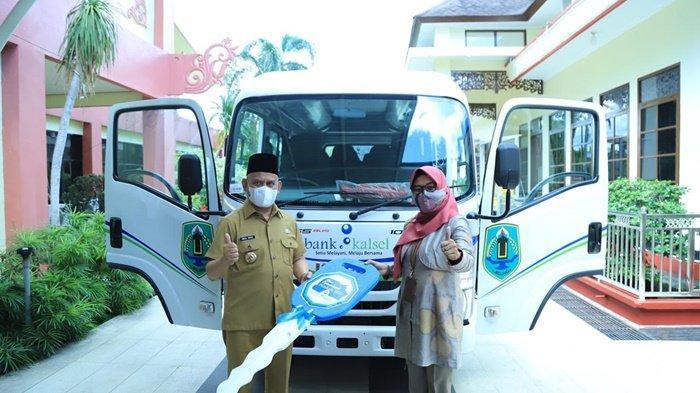 Pemerintah Kabupaten Hulu Sungai Utara Dapat Tambahan Mobil Operasional