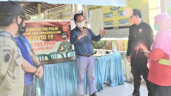 Aktifkan Posko PPKM Mikro di  Kapuas, Bupati Berharap Tekan Penyebaran Covid-19