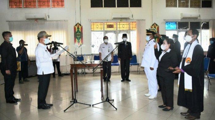 Bupati Kapuas Ben Brahim Lantik 15 Pejabat Administrator dan Pejabat Pengawas