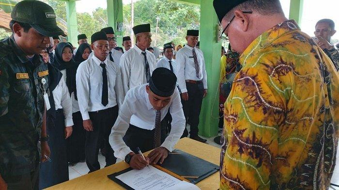 25 Anggota BPD Lontar Dilantik, Bupati Kotabaru Ingin Utamakan Pelayanan Masyarakat