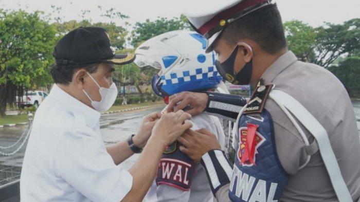 Pimpin Apel Gabungan Operasi Ketupat Intan 2021, Zairullah Bacakan Sambutan Kapolri
