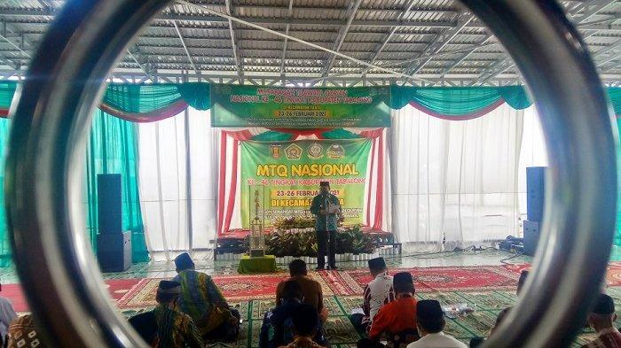 Buka MTQ ke-46 Tabalong di Tanta, Bupati Anang Nilai Penerapan Protokol Kesehatan Berjalan Bagus