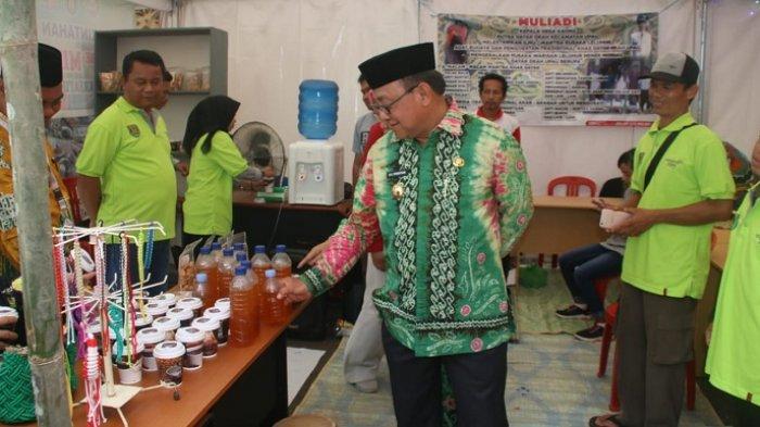 Stand Gebyar Desa Ikut Ramaikan Pameran dan Bazar di MTQ XXXI Provinsi Kalsel di Tabalong