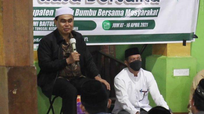 Safari Ramadan Bupati Tanbu di Kecamatan Kuranji, Akan Bantu Pembangunan Masjid