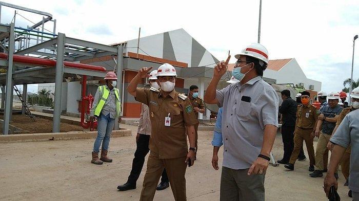 Bakal Diresmikan Presiden Jokowi, Bupati Tanbu Tinjau Pabrik Biodiesel Dengan Investasi Rp 2 Triliun