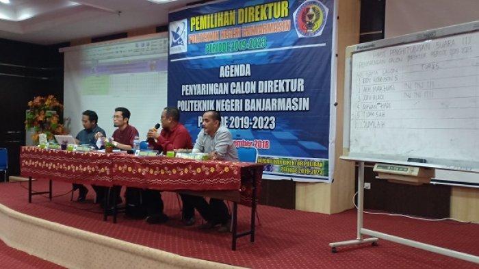 Penyaringan Calon Direktur Poliban Belangsung Sengit, Pemilihan Dilakukan Dua Putaran