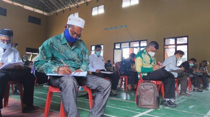 Melebihi Kouta Pendaftar, 167 Calon Kepala Desa Batola Ikuti Psikotes Hari Ini