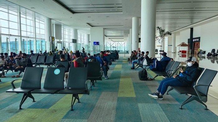 Imbas Tarif PCR Turun, Penumpang di Bandara Syamsudim Noor Naik 24 Persen