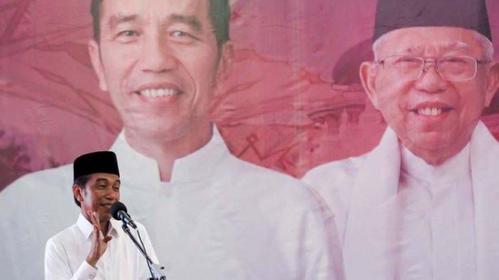 Sosok Pria Misterius Amankan Pelantikan Presiden Jokowi - KH Maruf Amin, Semedi di Gedung DPR!