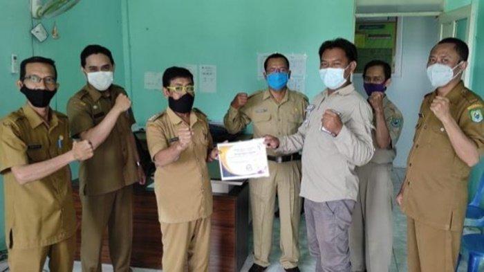 Camat Bataguh Kabupaten Kapuas Apresiasi Kerja Pendamping Desa