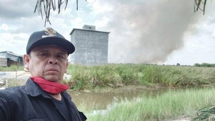 Karhutla Landa Lima Kecamatan Tapin, Satgas Kesulitan Menuju Lokasi